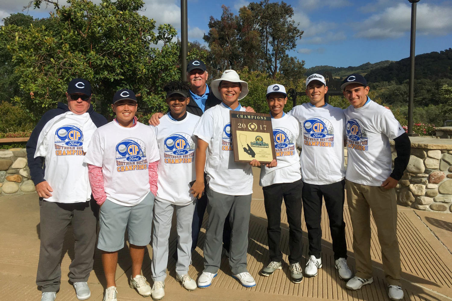 Cam High's boy's golf team takes the CIF Championship in Solvang.