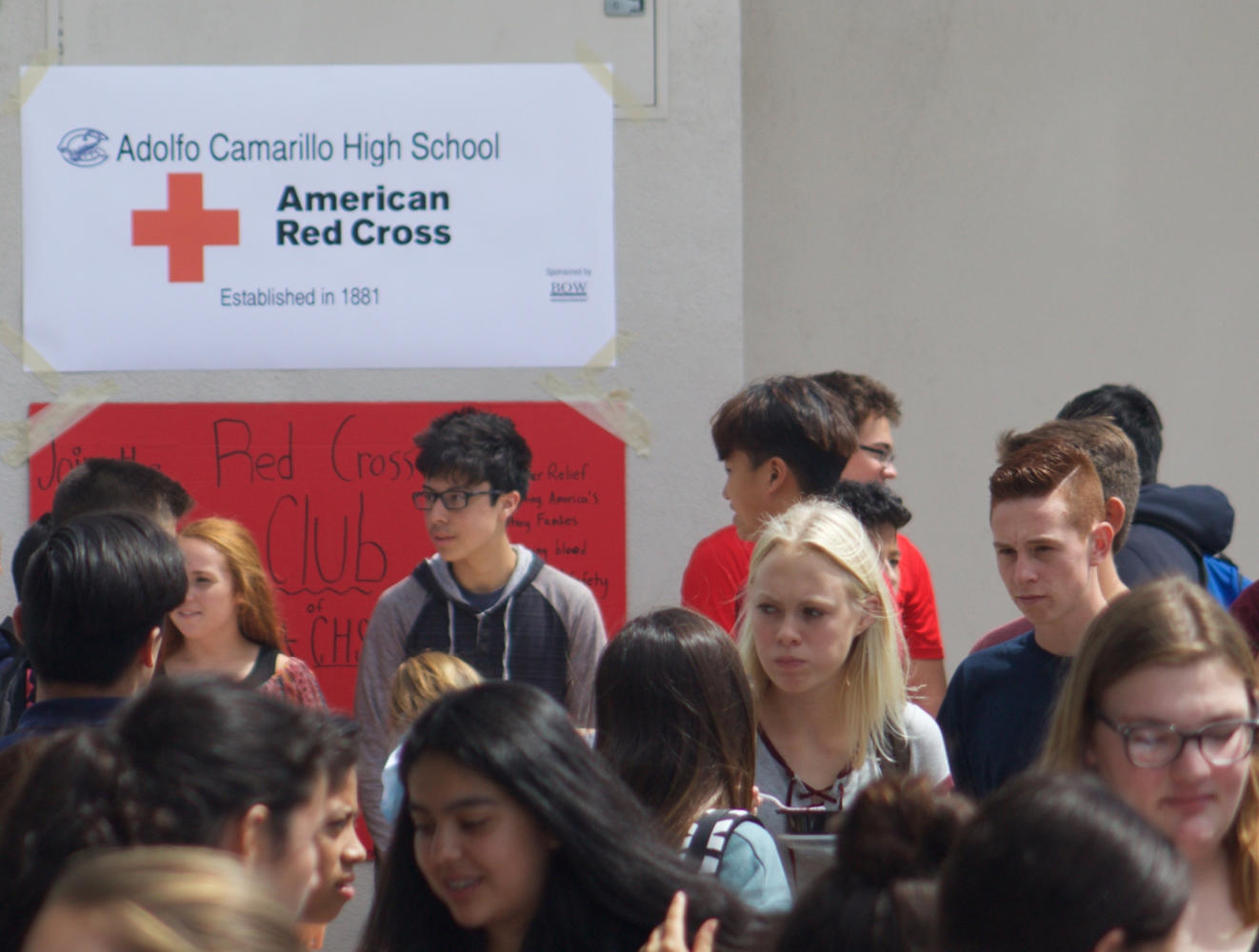 American Red Cross Club invites new faces to help provide relief to those in need.
