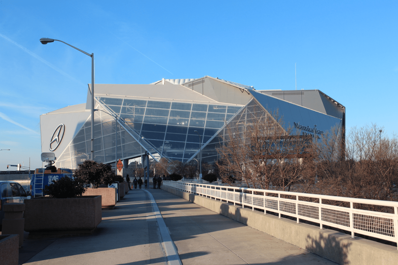 The Mercedez-Benz Superdome, where Super Bowl LIII was played.