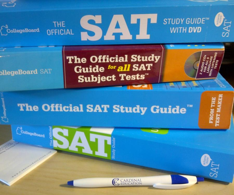 SAT+is+an+important+test+high+school+students+normally+take+during+their+junior+year+for+college+applications.