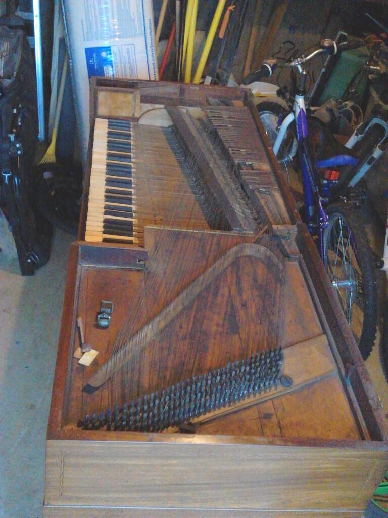 Astor Piano, c. 1790.