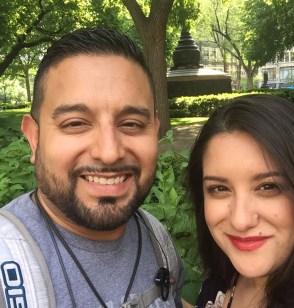 Stephen & Erica in New York City