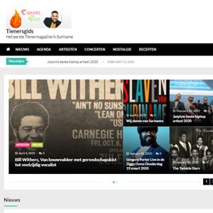 website van tienersgids is gemaakt door ACI Computers