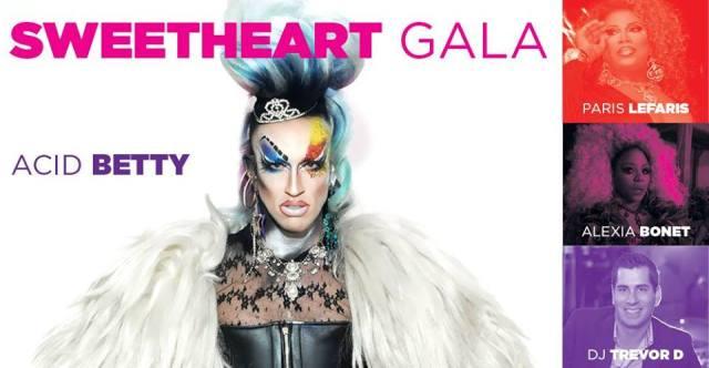 Sweetheart Gala – Columbia, South Carolina – Acid Betty