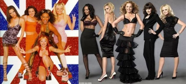 Sex Symbols of the Past. Then and Now. Part 2 (27 pics)