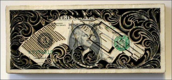 Amazing One Dollar Art (17 pics)