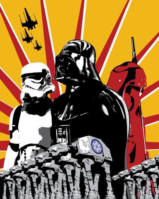 Incredible Star Wars Propaganda Posters (10 pics)