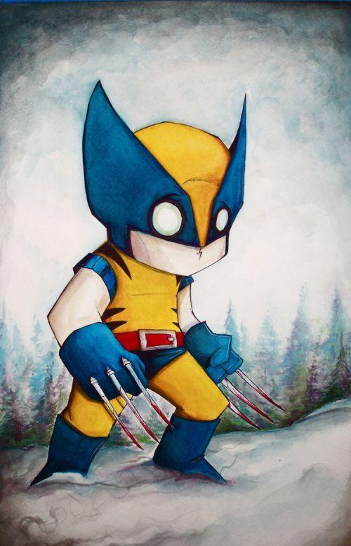 Creative Illustrations of Comic Book Heroes (16 pics)