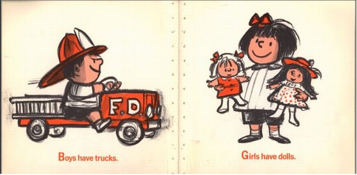 Another Sexist Children's Book (6 pics)