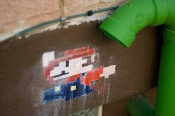 Amazing Super Mario Street Art (20 pics)