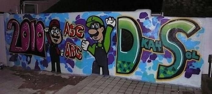Amazing Super Mario Street Art (20 pics)