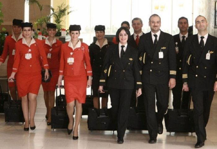 Flight Attendants from All Over the World (45 pics)