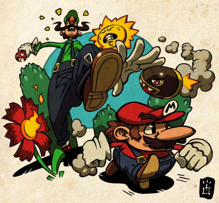 Super Mario Brothers Artworks (54 pics)