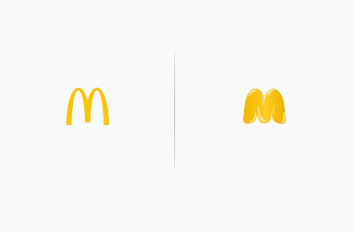 Artist Shows How The Products Of Famous Companies Would Affect Their Logos (10 pics)