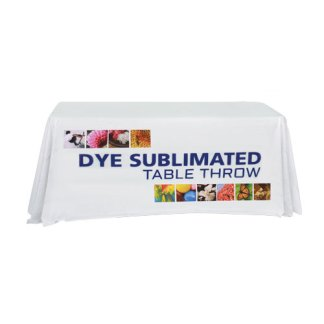 Printed Table Throw Covers For Folding Tables