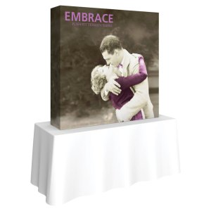 Tabletop EMBRACE Fabric Exhibits