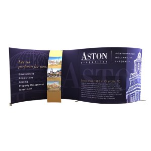 Aston Properties 20 x 10 Trade Show Exhibit