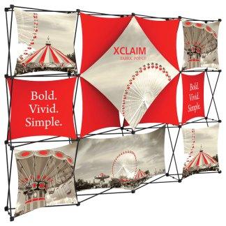 XCLAIM Fabric Popup Exhibits
