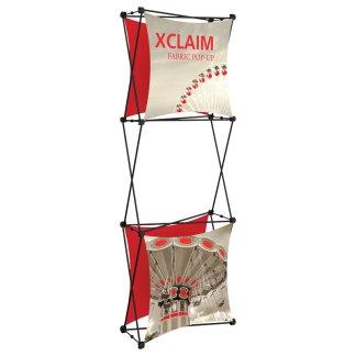 """30"""" x 88"""" XCLAIM Fabric Popup Exhibit-1"""