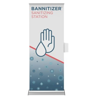 Bannitizer Portable Hand Sanitizing Station