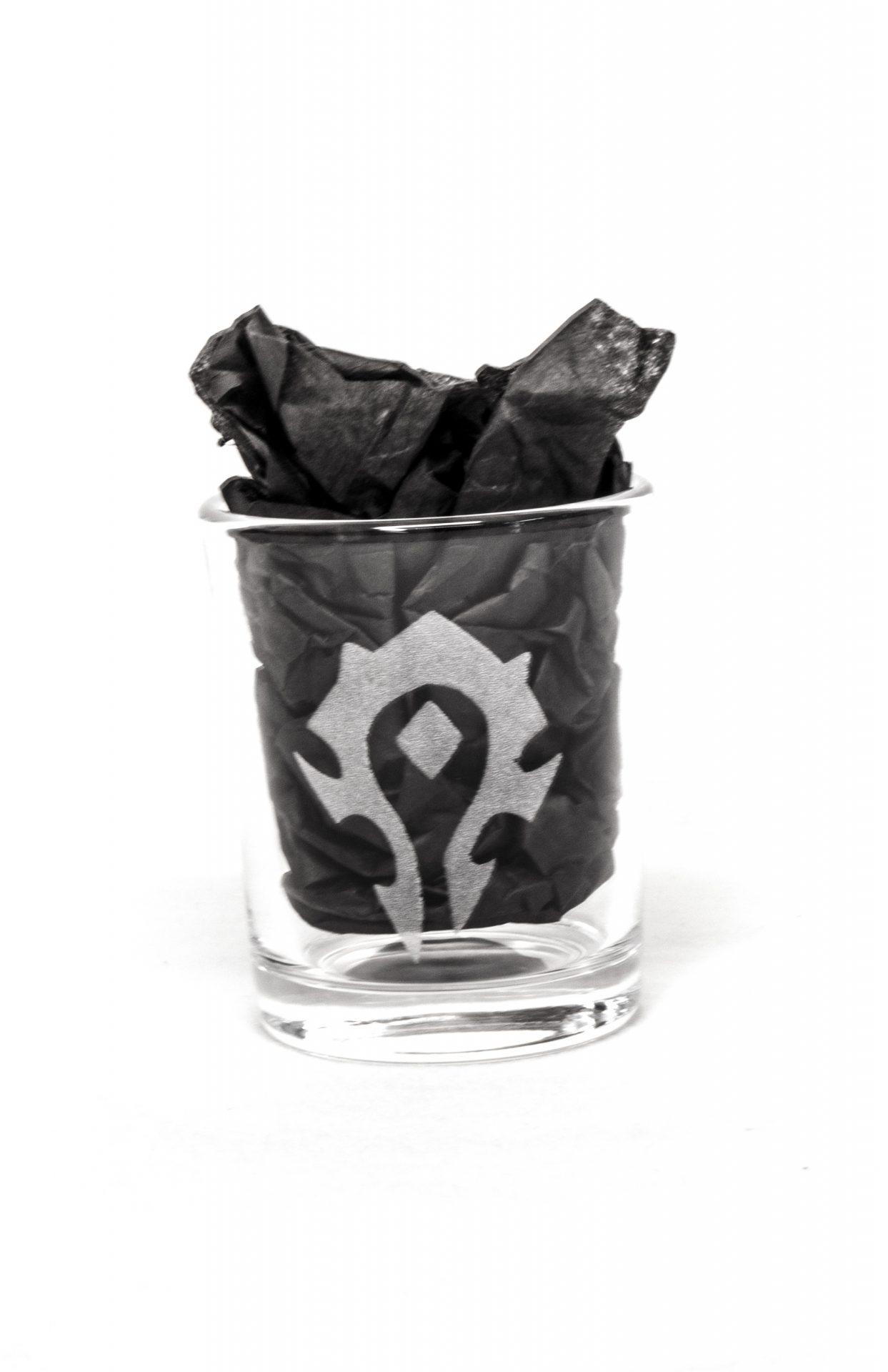 World of Warcraft shot glasses Set of 2