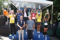 Categoria 50 a 54 anos masculino: 1º Reginaldo Sousa - 2º José Alves - 3º José Soares Feminino: 1º Lúcia Fernandes - 2º Betânia Pereira - 3º Celia Rocha
