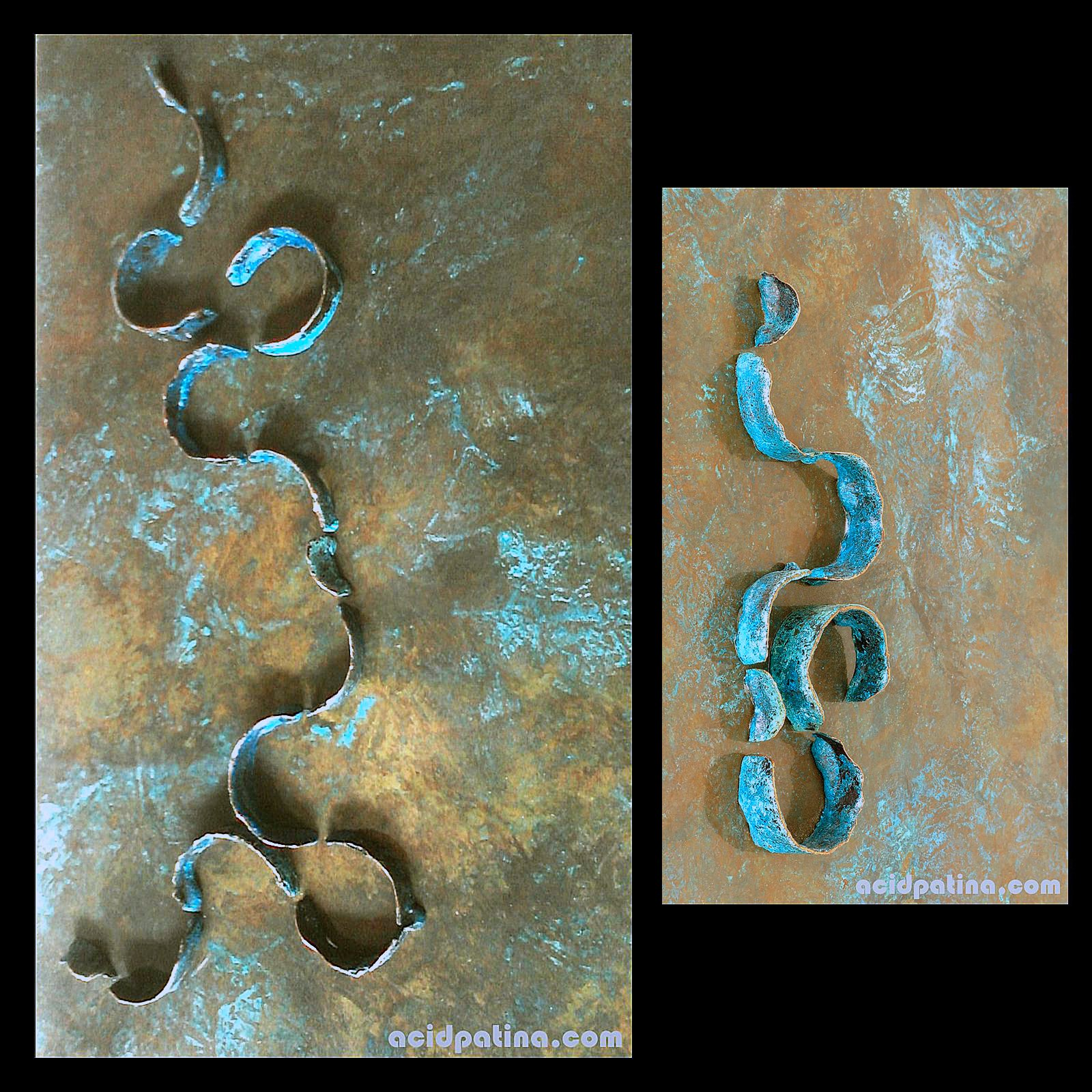 DNA Acid Patina
