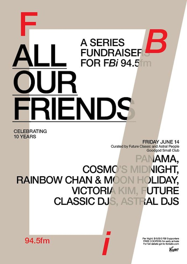 FBi - All Our Friends, Friday June 14