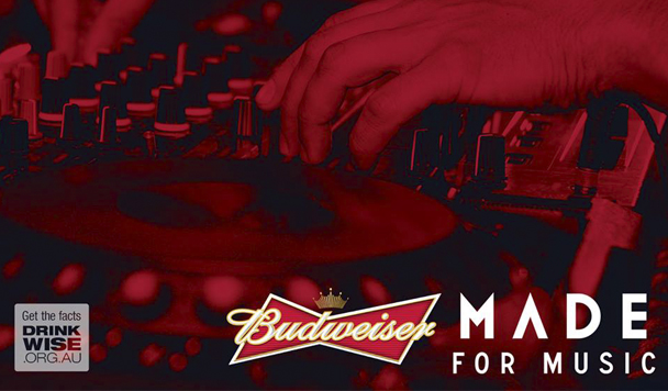 Budweiser Made for Music - The Aston Shuffle, Uberjack'd - acid stag
