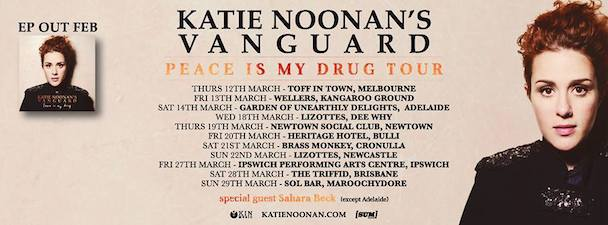 Katie Noonan's Vanguard - Peace Is My Drug Tour - acid stag
