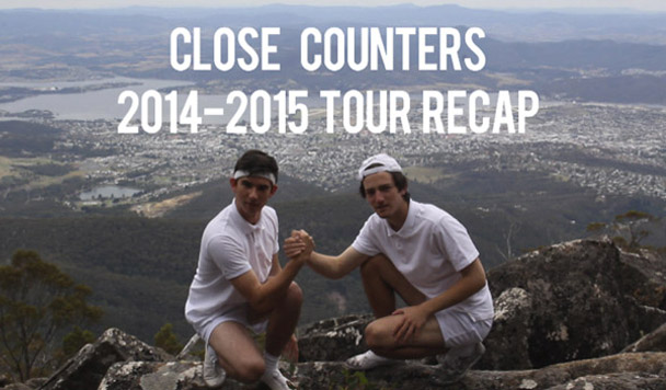 Close Counters – Aussie Tour Recap [Video Premiere]