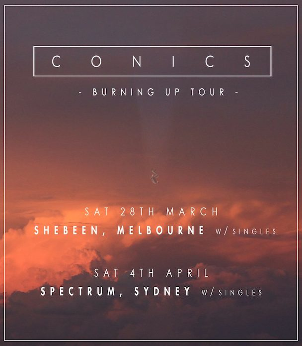 Conics - tour - acid stag