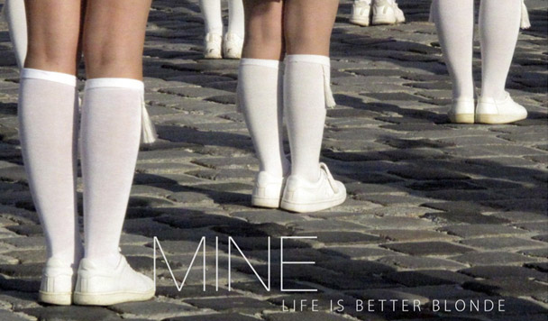 Life is Better Blonde – Mine [New Music]