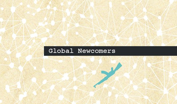 Global Newcomers: Mabel, M. Maggie, Kije Manito, N K N K & SAMSY and yurei
