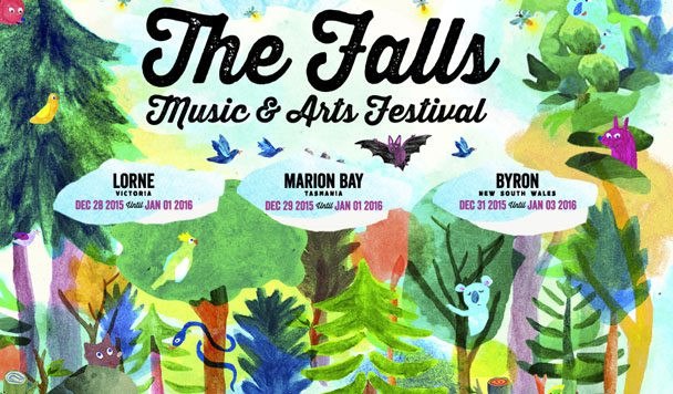 Falls Festival 2015/16 – Line-up Revealed [Round One]