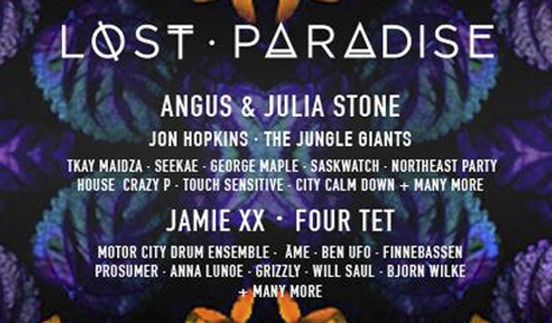 Lost Paradise 2015 Line-up Revealed