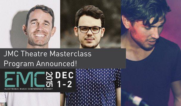 EMC: JMC Masterclass Theatre Program Announced