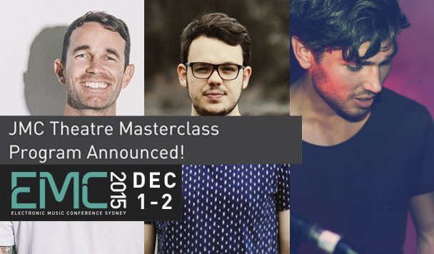 EMC: JMC Masterclass Theatre Program Announced