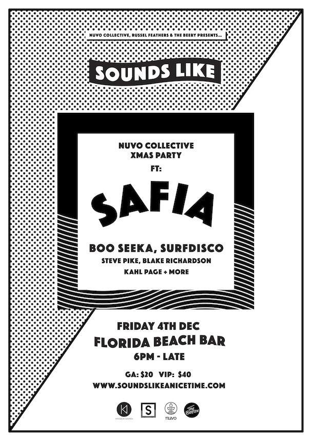 Sounds Like - Nuvo Xmas Party - SAFIA