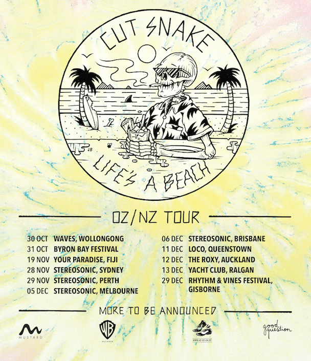 Cut Snake - Aussie Tour - acid stag