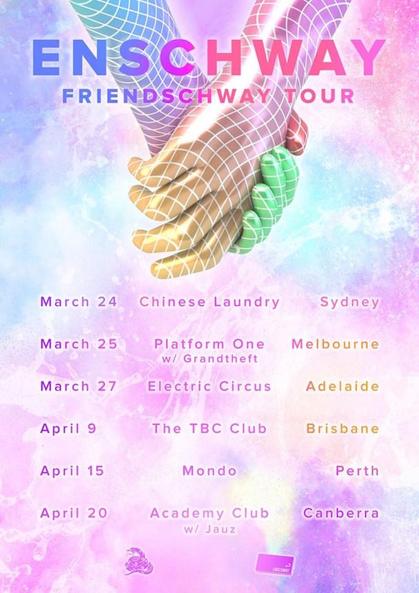 Enschway - Aussie Tour - acid stag