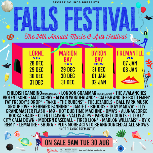 Falls Festival 2016 - acid stag