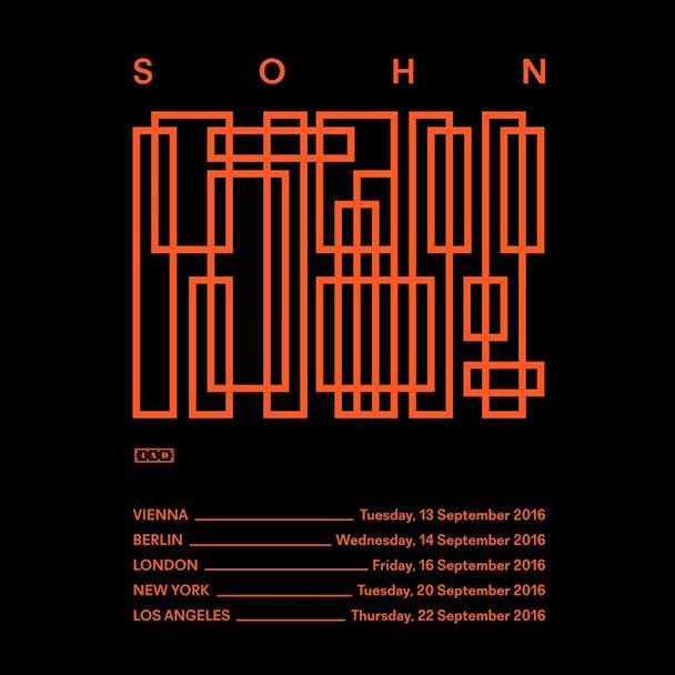 SOHN Tour - acid stag