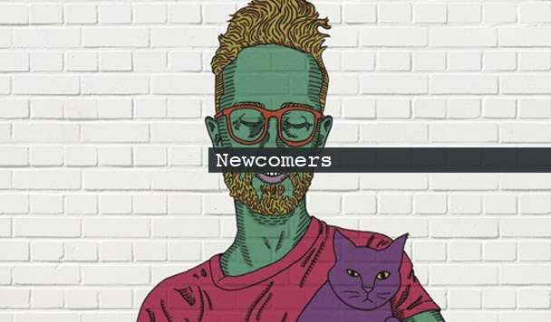 Newcomers: Brodie, Phil Good, Esmo, Archivist & Swim