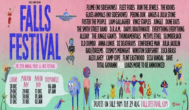 Falls Festival 2017 Line-Up Announced