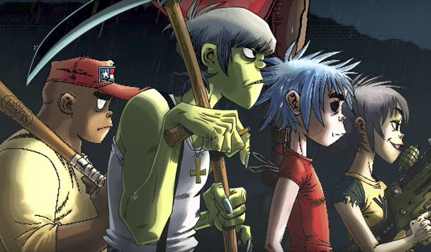 Gorillaz – 'Garage Palace' (ft. Little Simz)