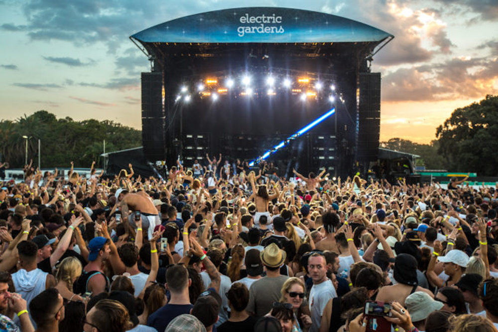 Electric Gardens – Line-up 2019