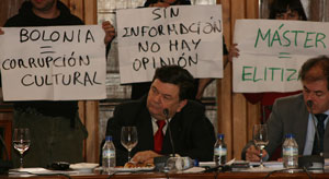 Moments del boicot del Consell de Govern