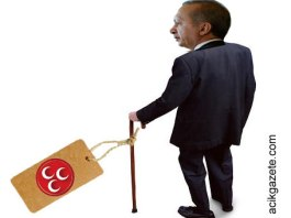 Tayyip Erdoğan ve MHP bastonu