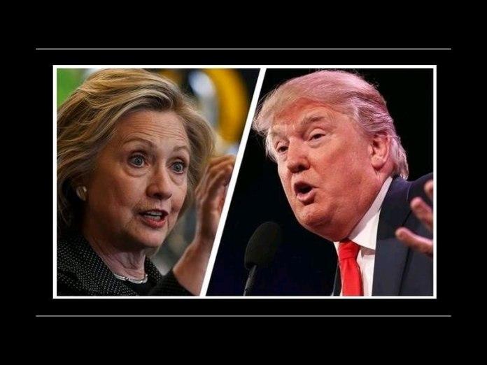 Clinton ve Trump...